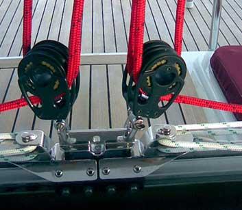 Schot Block Segel Yacht