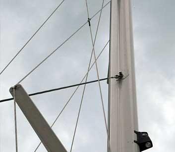 Mast Komponenten Segel Yacht