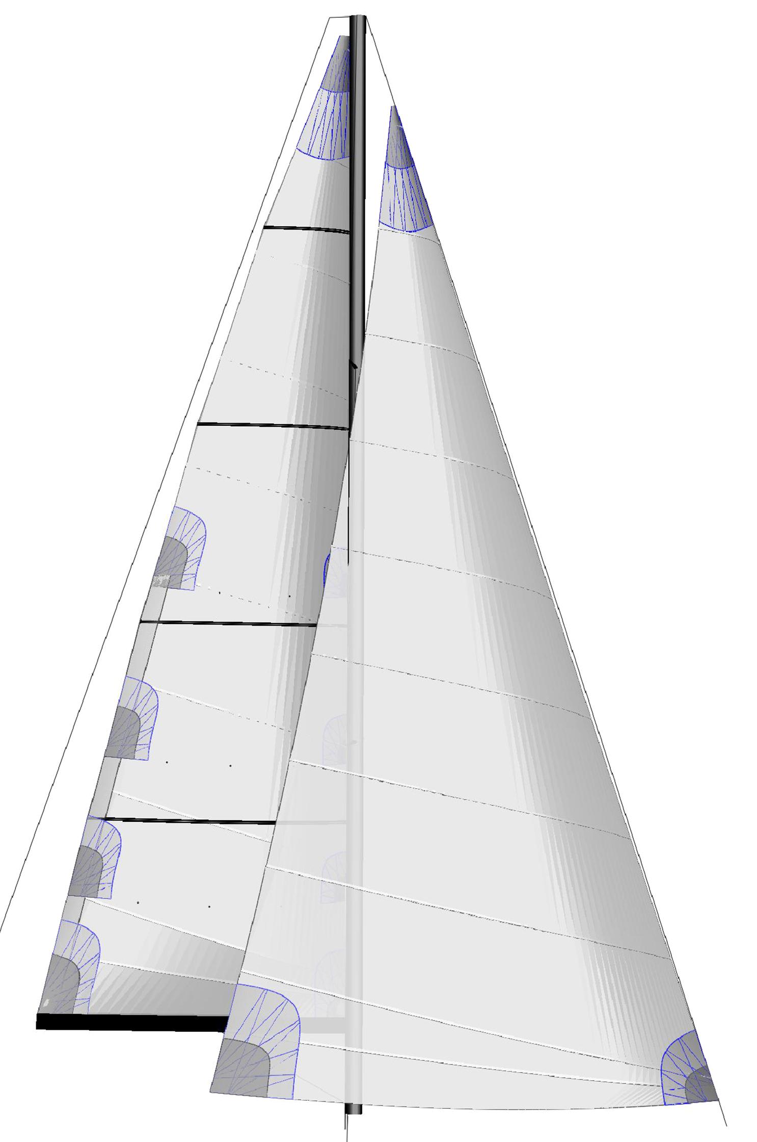 Offshore Crosscut Segel