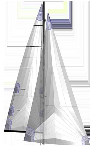 Offshore Tri Radial Segel