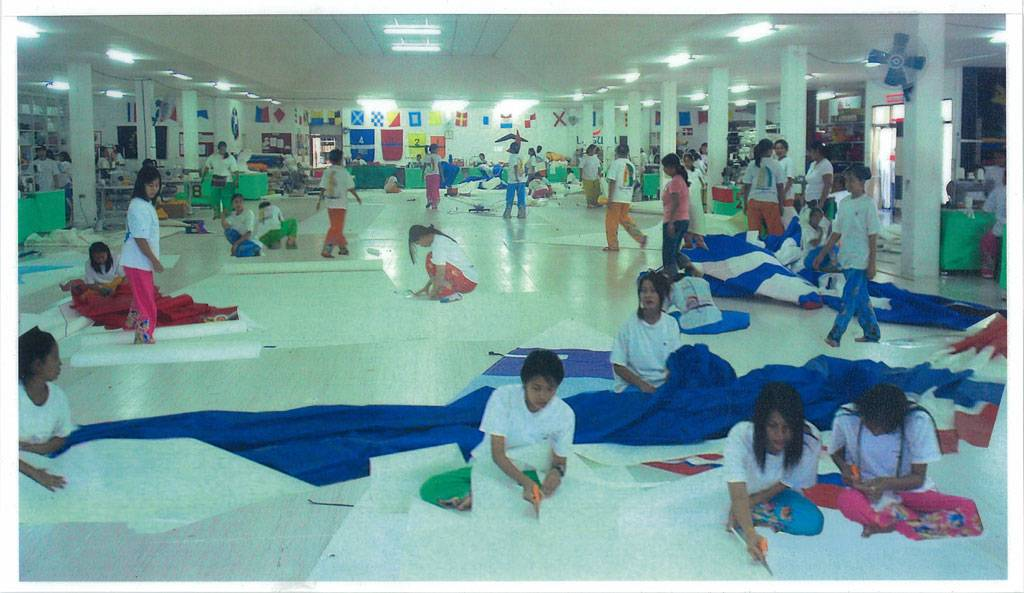 Erstes Rolly Tasker Segel Loft in Thailand