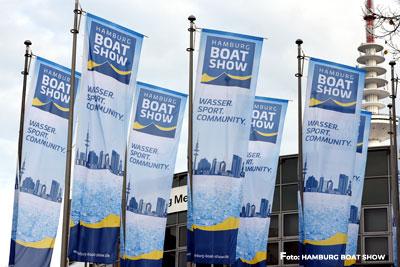 Aussenansicht Hamburg Boat Show
