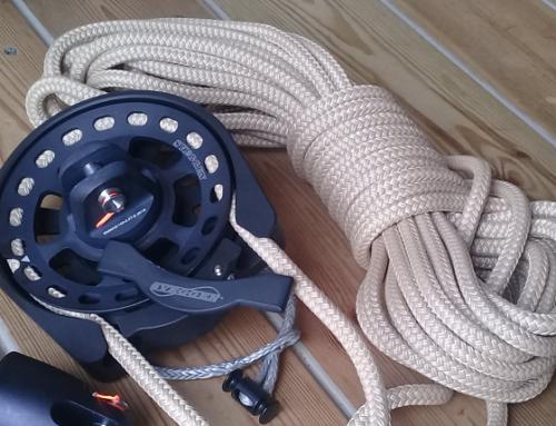 CODE ZERO Furler – Neue Rollanlage SVEGGEN