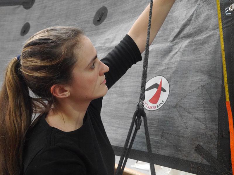 Paula Gössling wurde zur besten Segelmacher-Gesellin des Jahres 2019 gekürt