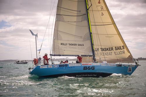Ocean Cruising Segel