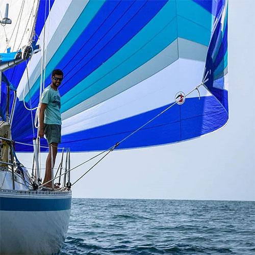 Segel für Blauswasser Yachten