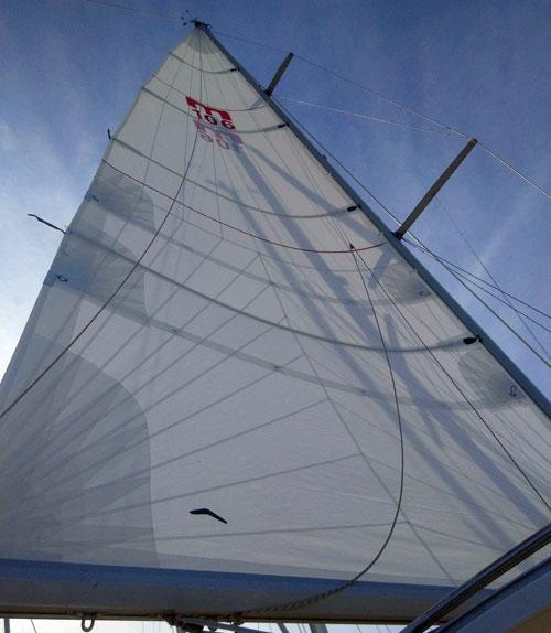Heavy Weather Coastal Sail