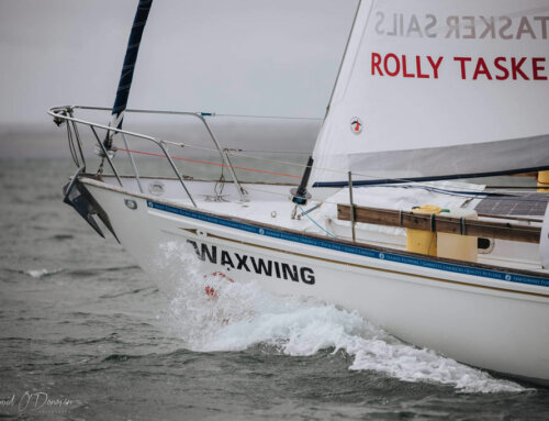 Solo Nonstop Around the World with Rolly Tasker Sails